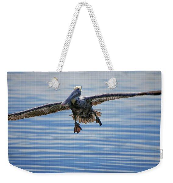 Pelican On Approach Weekender Tote Bag