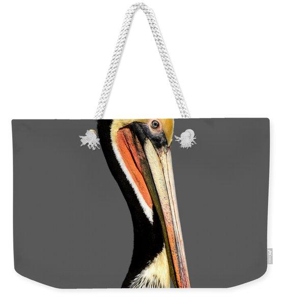 Pelican Posing Weekender Tote Bag