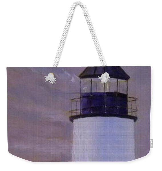 Pemaquid Light Morning Light Weekender Tote Bag