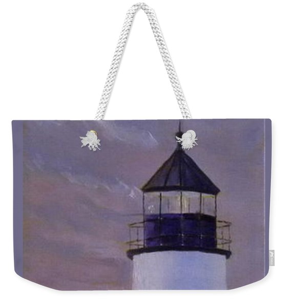 Pemaquid Light Morning Light Weekender Tote Bag