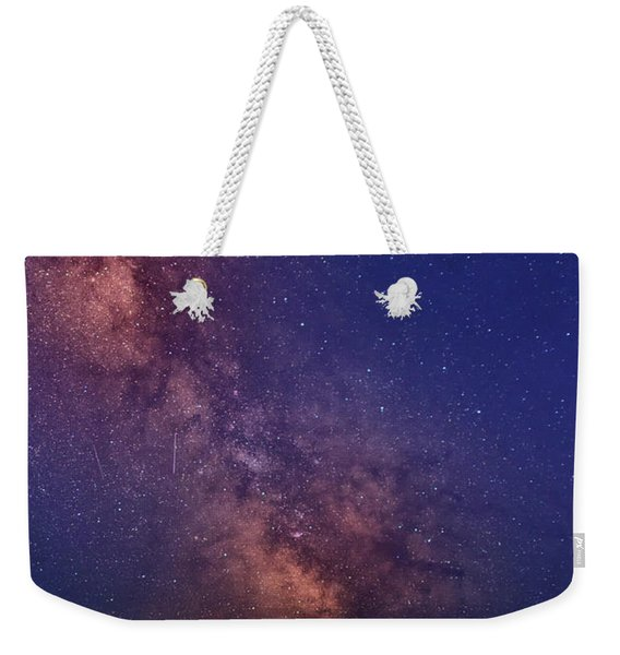 Pemaquid Point Lighthouse And The Milky Way Weekender Tote Bag