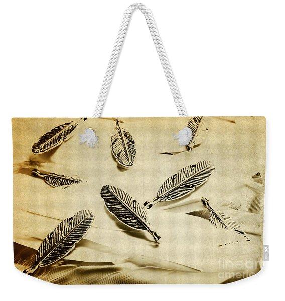 Pendants And Quills Weekender Tote Bag