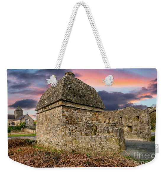 Penmon Priory Sunset Weekender Tote Bag