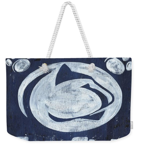 Penn State Personalized Weekender Tote Bag