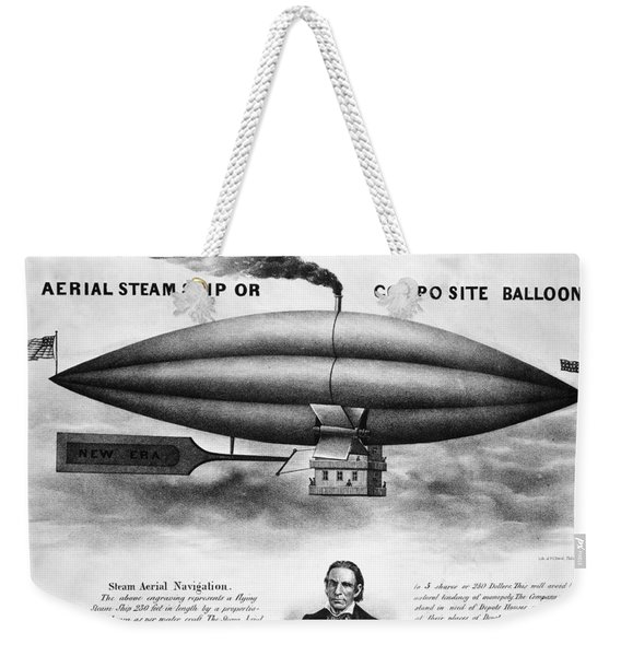 Penningtons Airship, 1850 Weekender Tote Bag