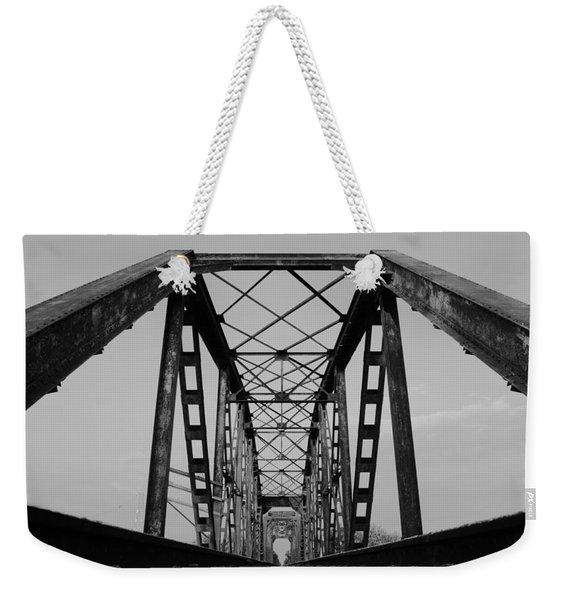 Pennsylvania Steel Co. Railroad Bridge Weekender Tote Bag