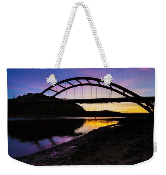 Pennybacker Bridge Weekender Tote Bag