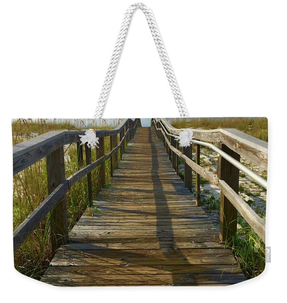 Weekender Tote Bag featuring the painting Pensacola Florida A52516 by Mas Art Studio
