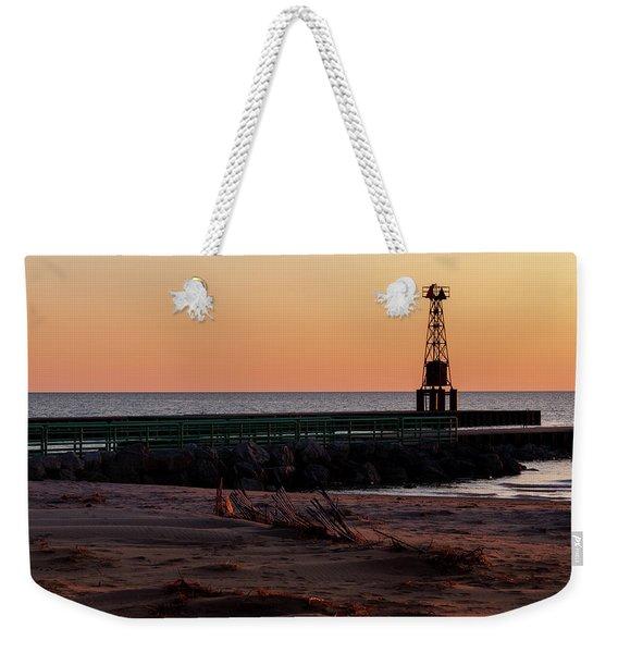 Pentwater Light Weekender Tote Bag