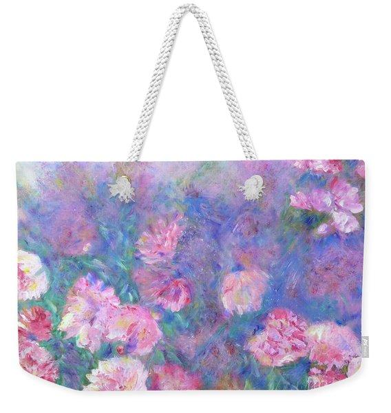 Peonies Weekender Tote Bag