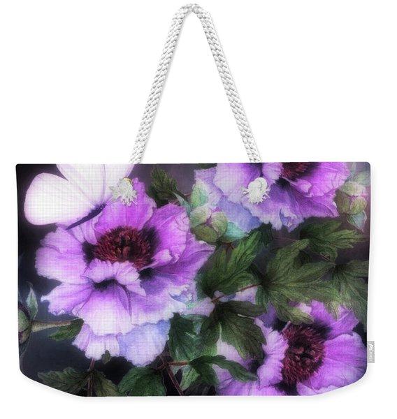Peonies In Bloom 03 Weekender Tote Bag