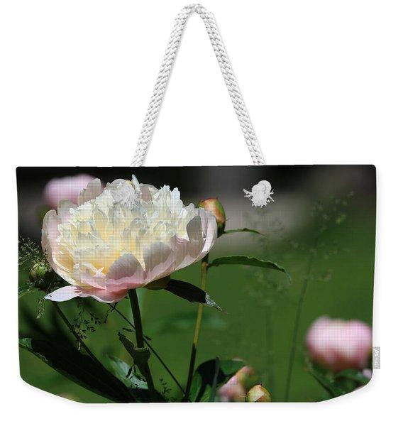 Peony Beauty Weekender Tote Bag