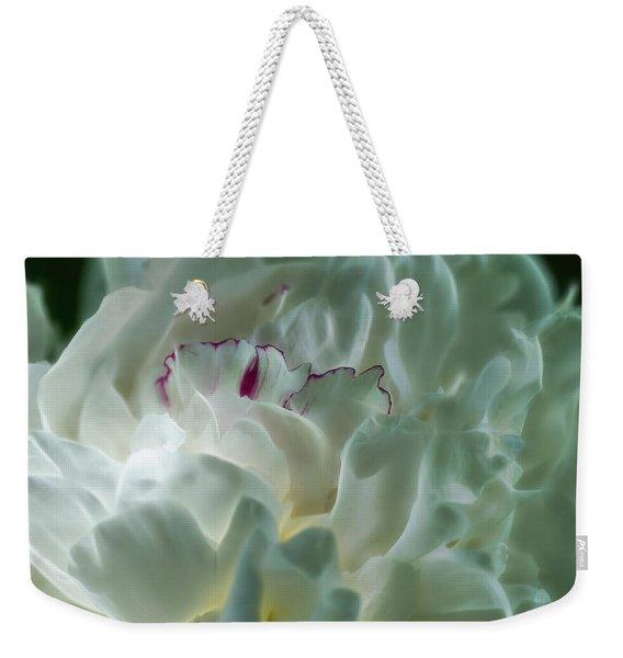 Peony Flower Energy Weekender Tote Bag