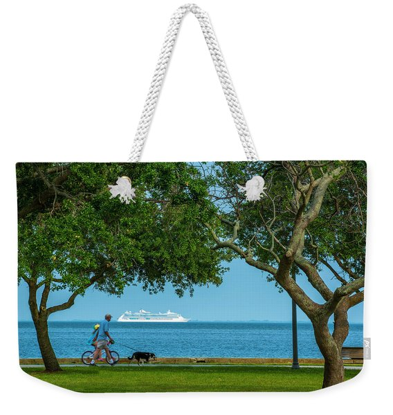 People Going Places Weekender Tote Bag