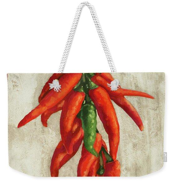 Peperoncini Piccanti Weekender Tote Bag