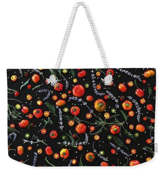Pepper Pattern Weekender Tote Bag
