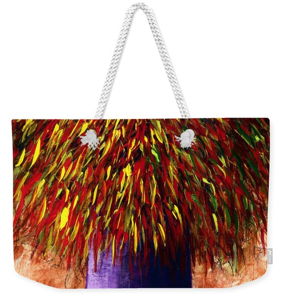 Peppered  Weekender Tote Bag