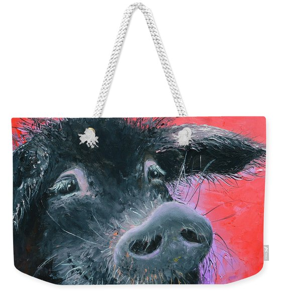 Percival The Black Pig Weekender Tote Bag