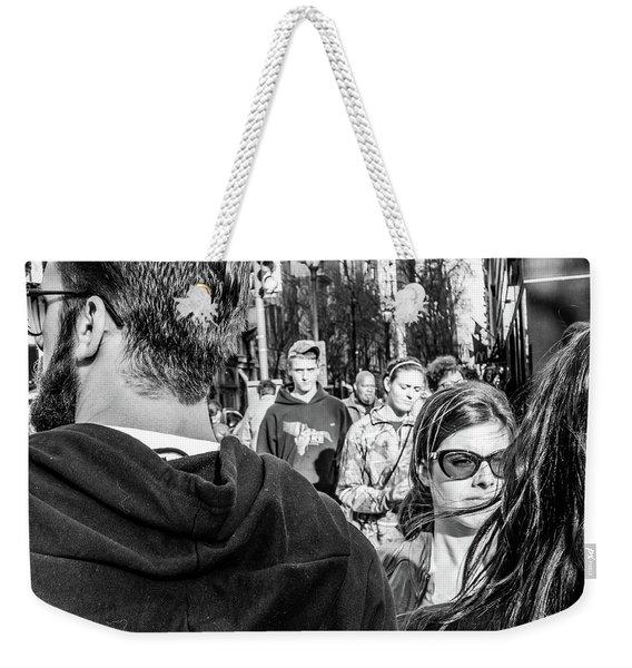 Percolate Weekender Tote Bag