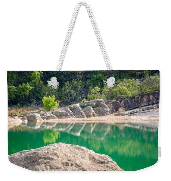 Perdernales Falls Weekender Tote Bag