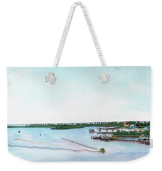 Perdido Key Bay Weekender Tote Bag