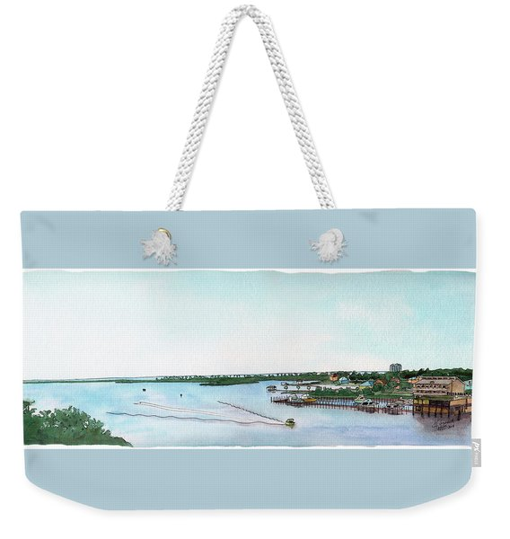 Perdido Key Bay Weekender Tote Bag