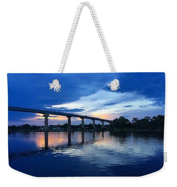 Perdido Key Bridge Weekender Tote Bag