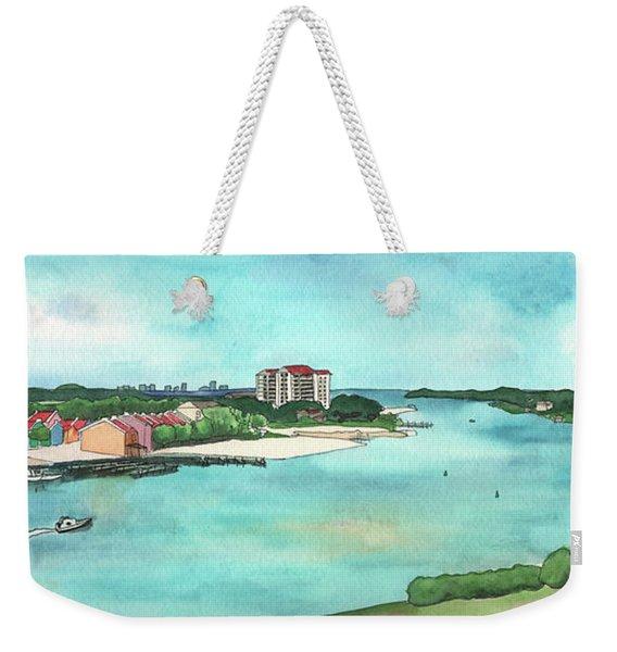 Perdido Key River Weekender Tote Bag