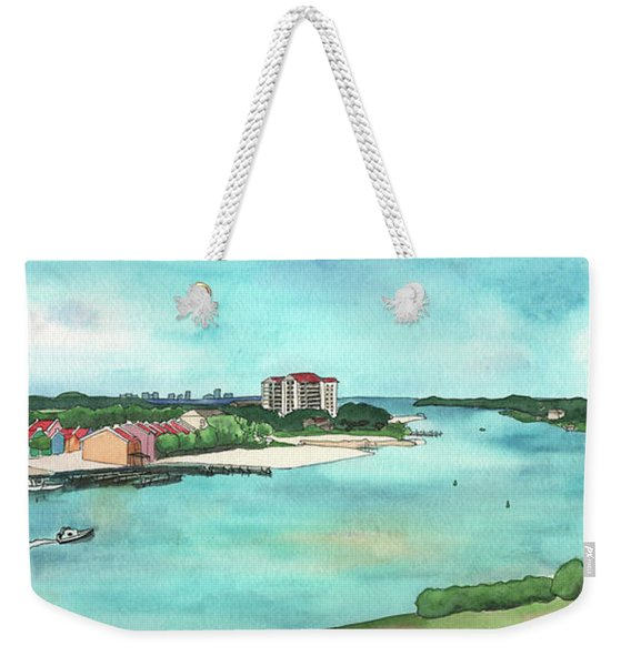 Perdido Key River Weekender Tote Bag