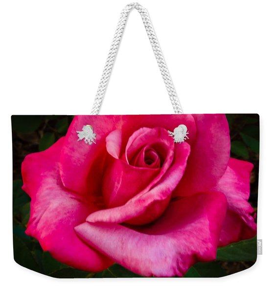Perfect Rose Weekender Tote Bag