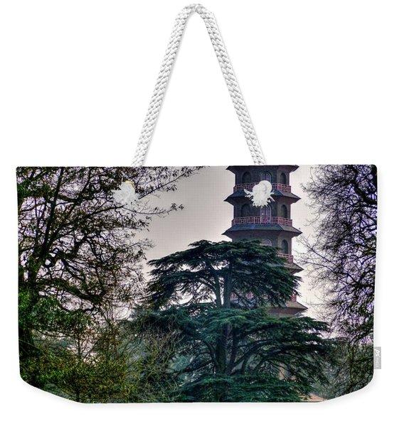 Pergoda Kew Gardens Weekender Tote Bag
