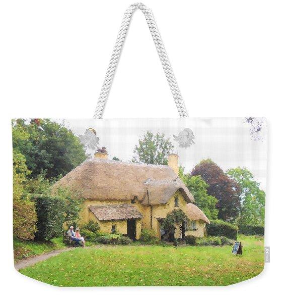 Periwinkle Cottage II Weekender Tote Bag