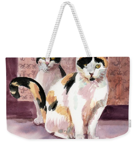 Perla And Sparks Weekender Tote Bag
