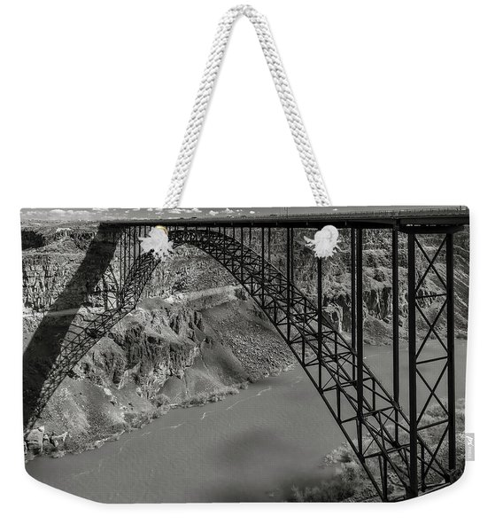 Perrine Bridge, Twin Falls, Idaho Weekender Tote Bag