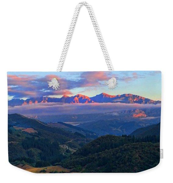 Perrozo Morning Weekender Tote Bag