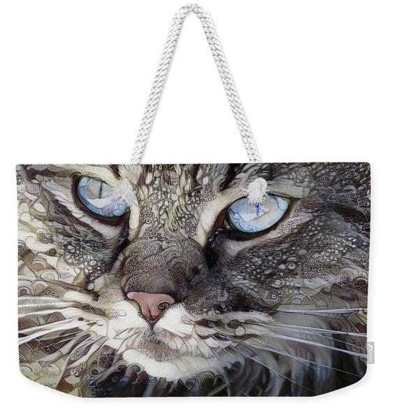 Perry The Persian Cat Weekender Tote Bag