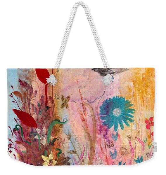 Persephone's Splendor Weekender Tote Bag