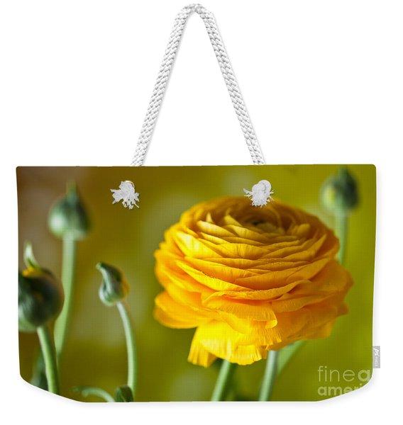 Persian Buttercup Flower Weekender Tote Bag