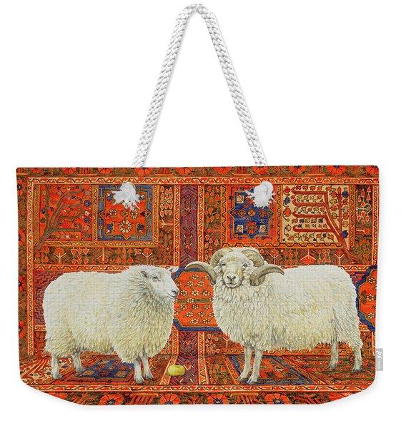 Persian Wool Weekender Tote Bag