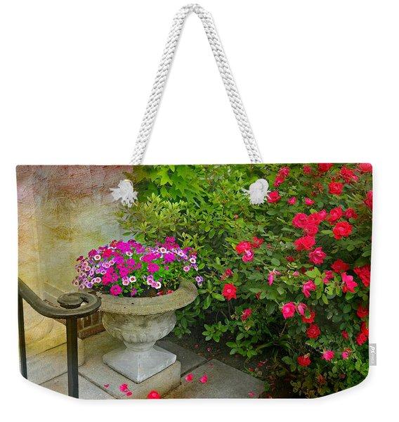 Petal Drops Weekender Tote Bag