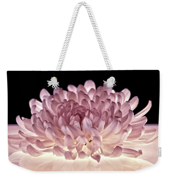 Petal Purity Weekender Tote Bag
