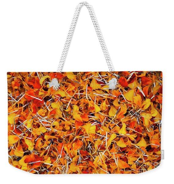 Petals Galore  Weekender Tote Bag