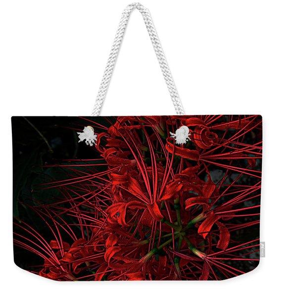Petals Of Fireworks Weekender Tote Bag