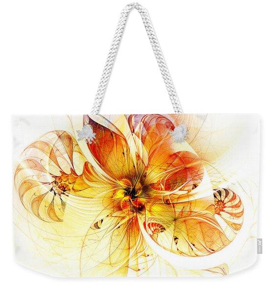 Petals Of Gold Weekender Tote Bag