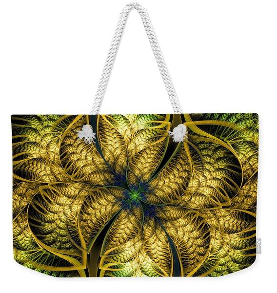 Petals Of Life Weekender Tote Bag