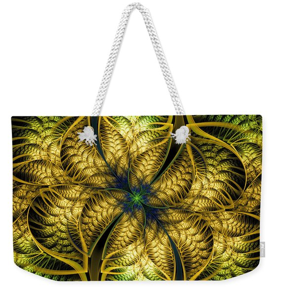 Petals Of Life Weekender Tote Bag