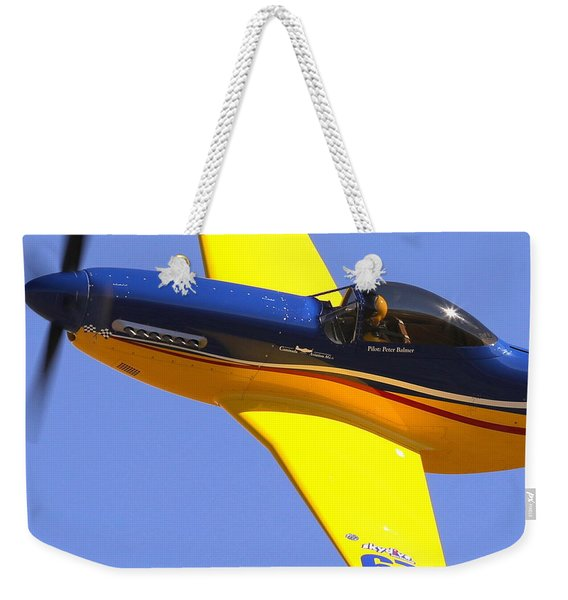 Peter Balmer In Swiss Thunder Weekender Tote Bag