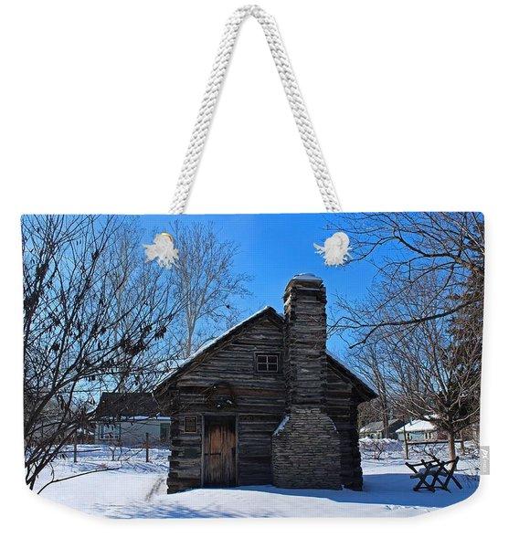 Peter Navarre Cabin I Weekender Tote Bag