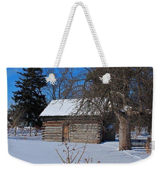 Peter Navarre Cabin II Weekender Tote Bag