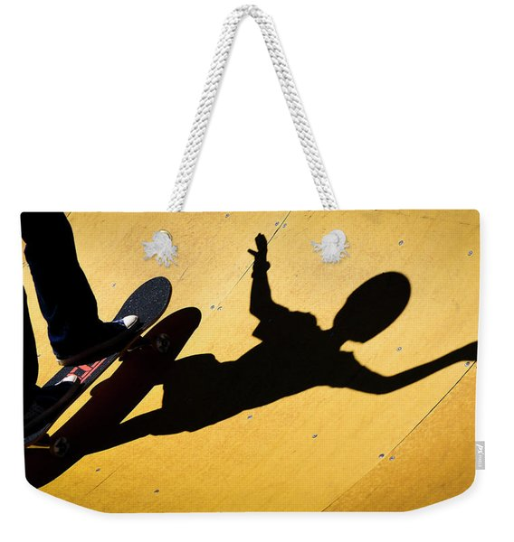 Peter Pan Skate Boarding Weekender Tote Bag